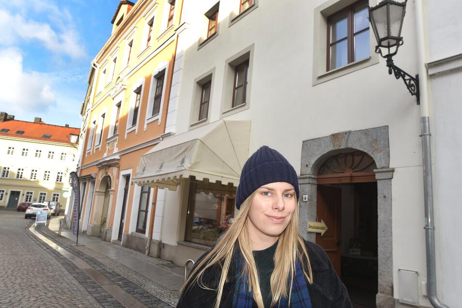 Der Polin Aleksandra Nowak gehört ein Haus in der Rittergasse.