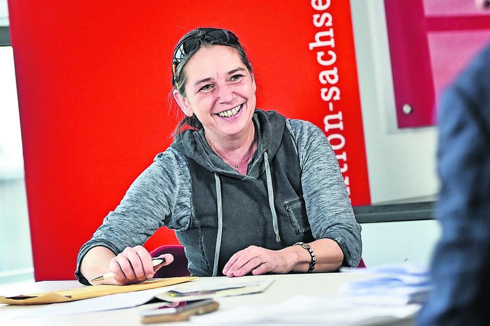 Uta-Verena Meiwald ist Landtagsabgeordnete und im Ehrenamt noch Kreisrätin im Landkreis Sächsische Schweiz-Osterzgebirge. Beide Mandate würde sie gern verteidigen.