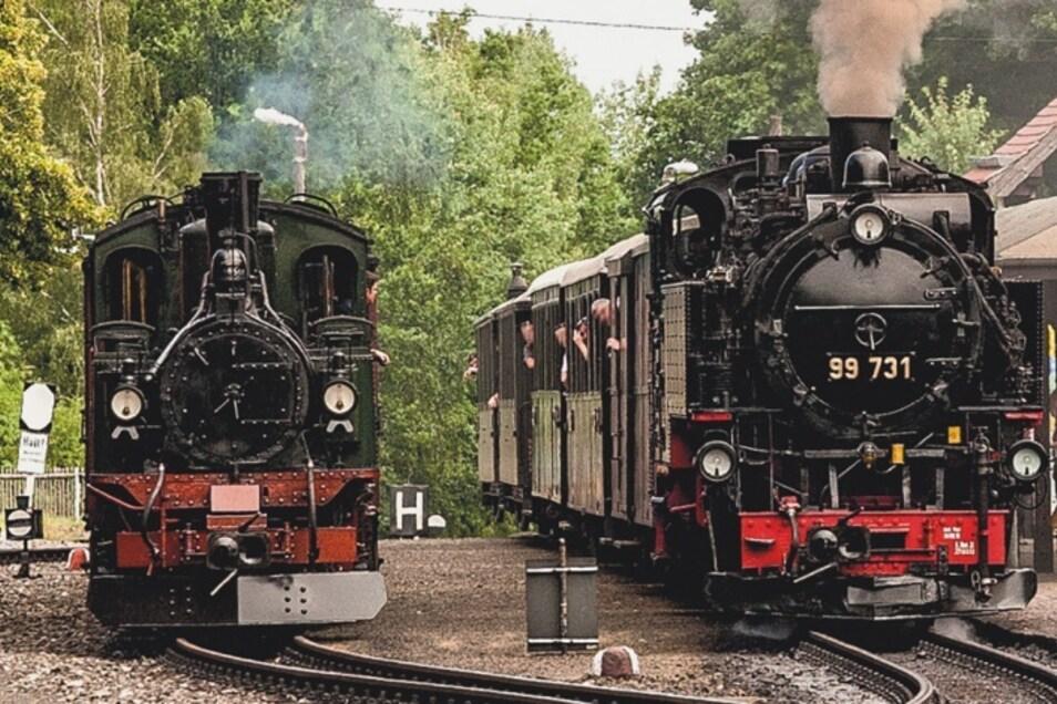 Bei der Zittauer Schmalspurbahn geht man dieses Wochenende auf Zeitreise.