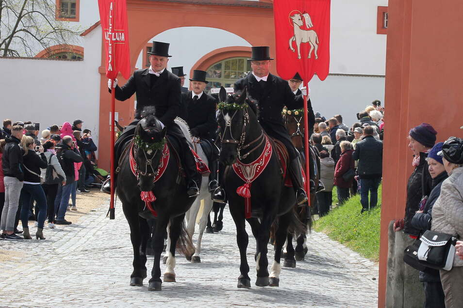 In den vergangenen Jahren war das Kloster St. Marienthal immer eine Station der Ostritzer Saatreiter. Ob dies auch 2021 so sein wird, ist noch offen.