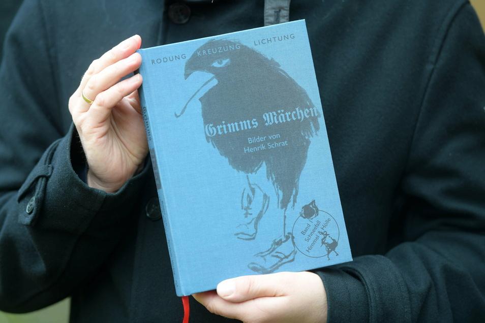 So sieht die Neuausgabe des Grimm'schen Märchenbuches aus.