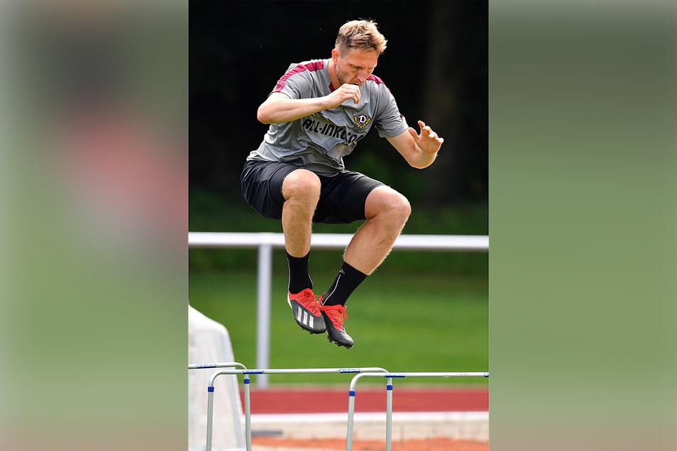 In der neuen Saison will Hartmann jede Hürde überwinden.