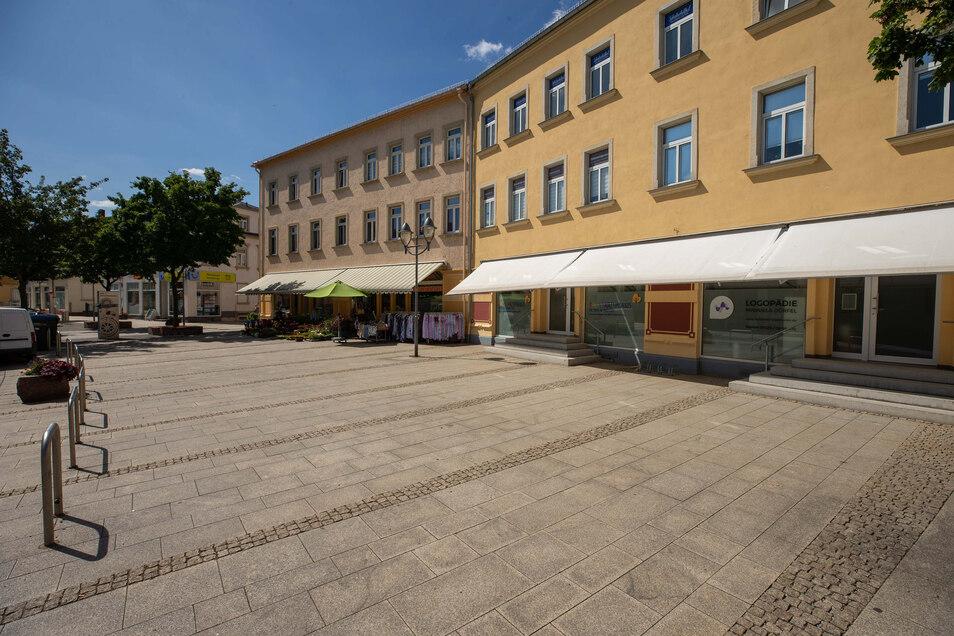 Viel Platz ist hier auf der Heidenauer Ernst-Thälmann-Straße, aber nicht mehr lange.