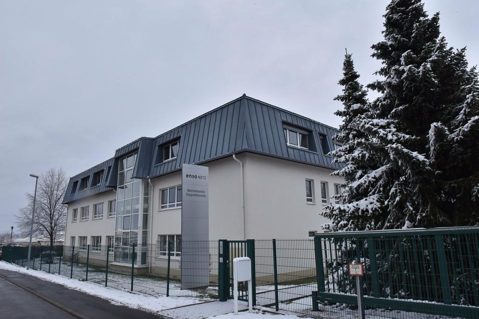 Hier ist der Meisterbereich Dippoldiswalde von Sachsennetz ansässig. Seine Büroräume braucht der Versorger aber nicht mehr.