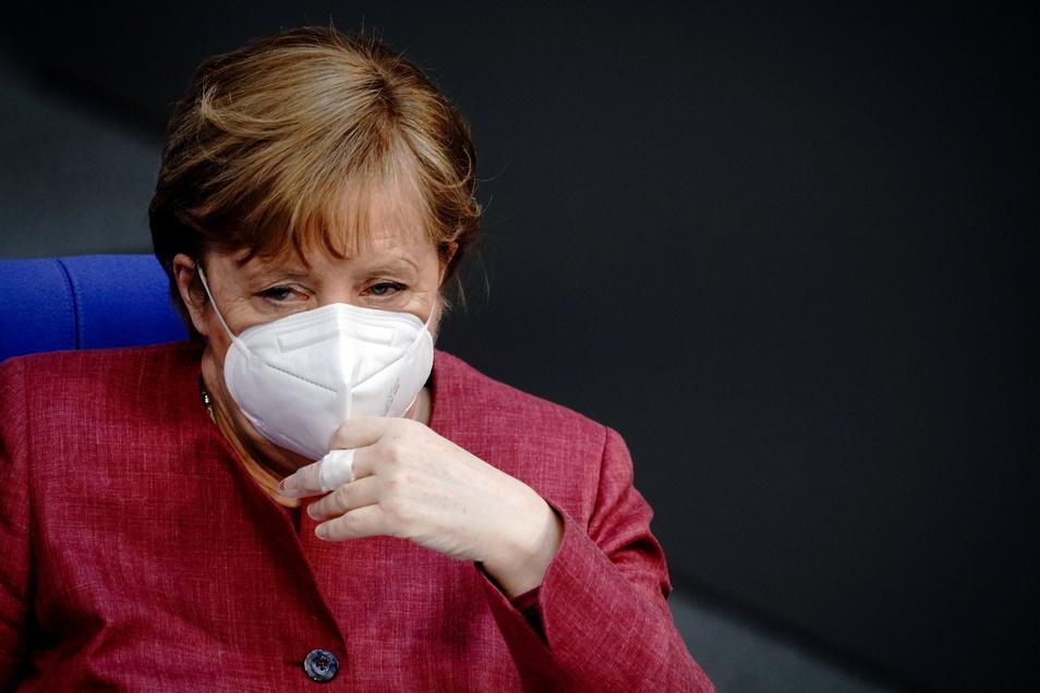 Bundeskanzlerin Angela Merkel (CDU) wurde am Freitag mit Astrazeneca geimpft.