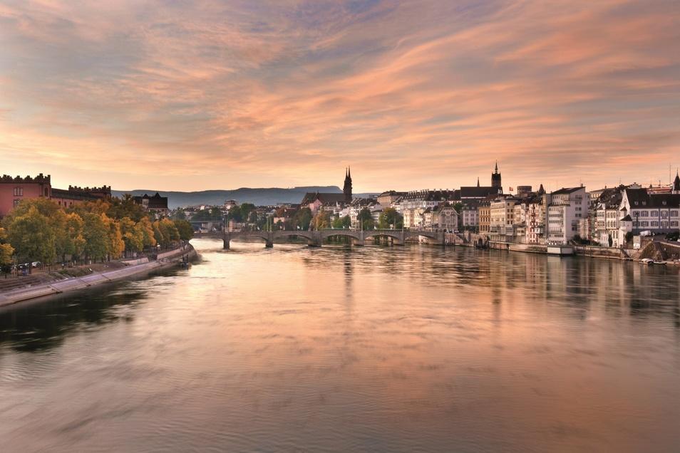 Basel - Blick auf den Rhein