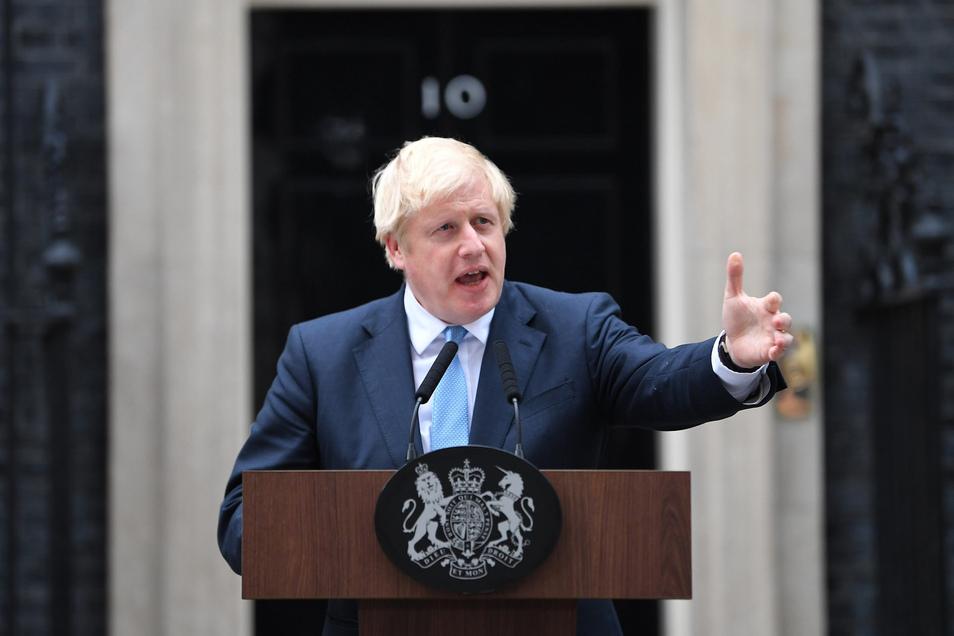 Premierminister Boris Johnson will auf gar keinen Fall eine Verschiebung des Brexits akzeptieren.