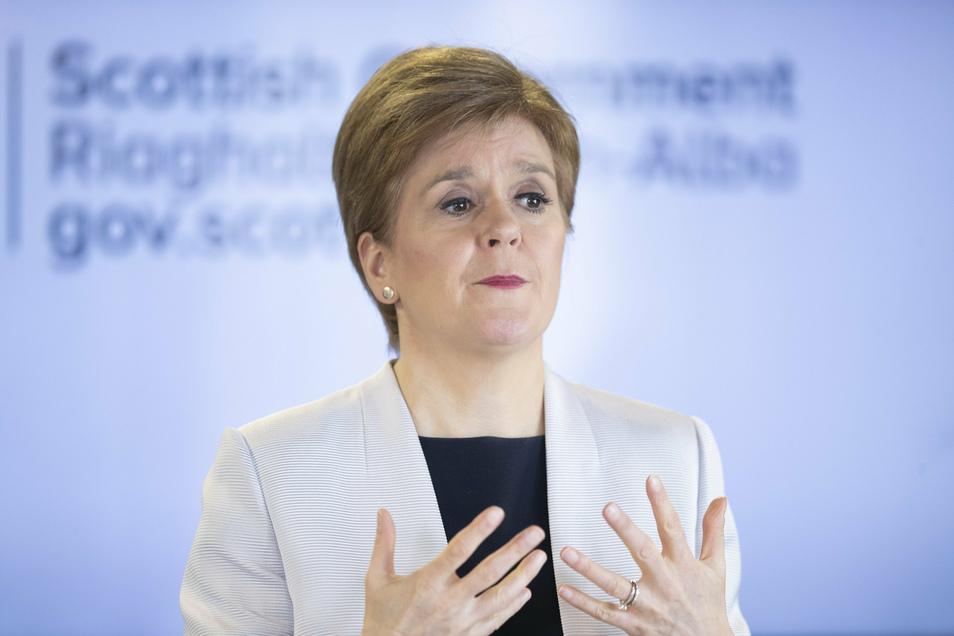 Nicola Sturgeon, Premierministerin von Schottland