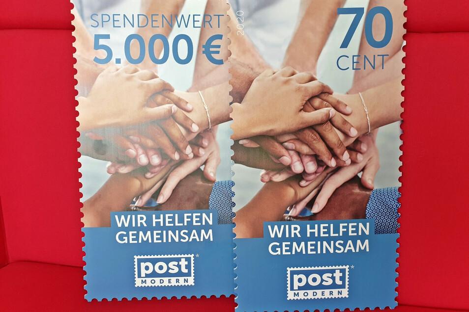 Das sind die Sonderbriefmarken von Post Modern.