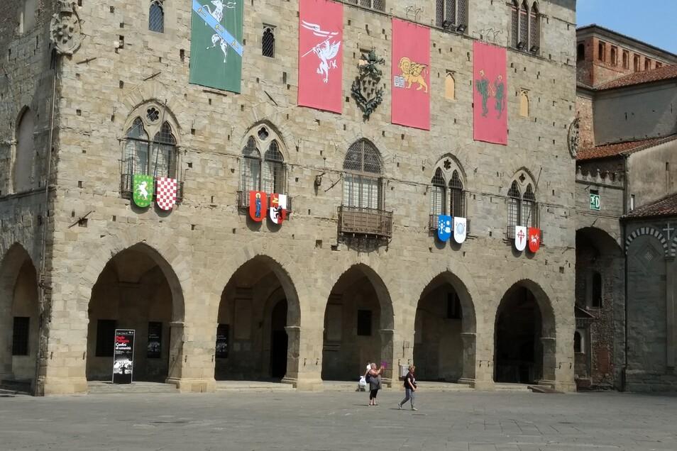 Das Rathaus von Pistoia