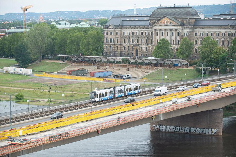 Ab 2022 soll der mittlere Brückenzug saniert werden.
