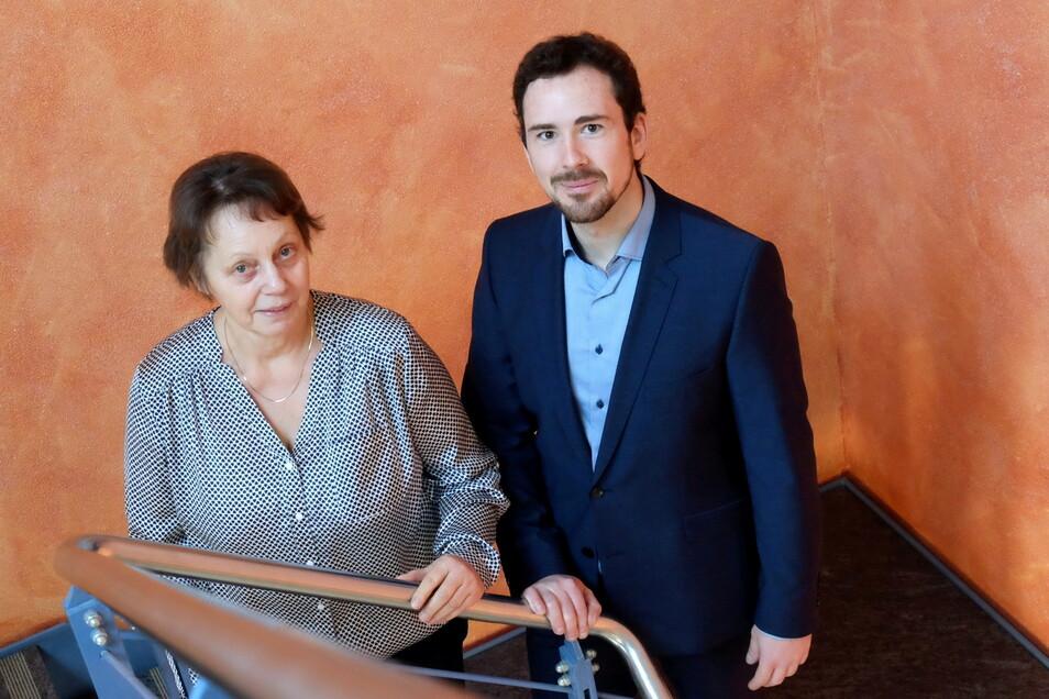 Vor zwei Jahren übergab Sabine Zinnecker die Geschäfte an Thomas Käseberg. Nun ist sie zurück.