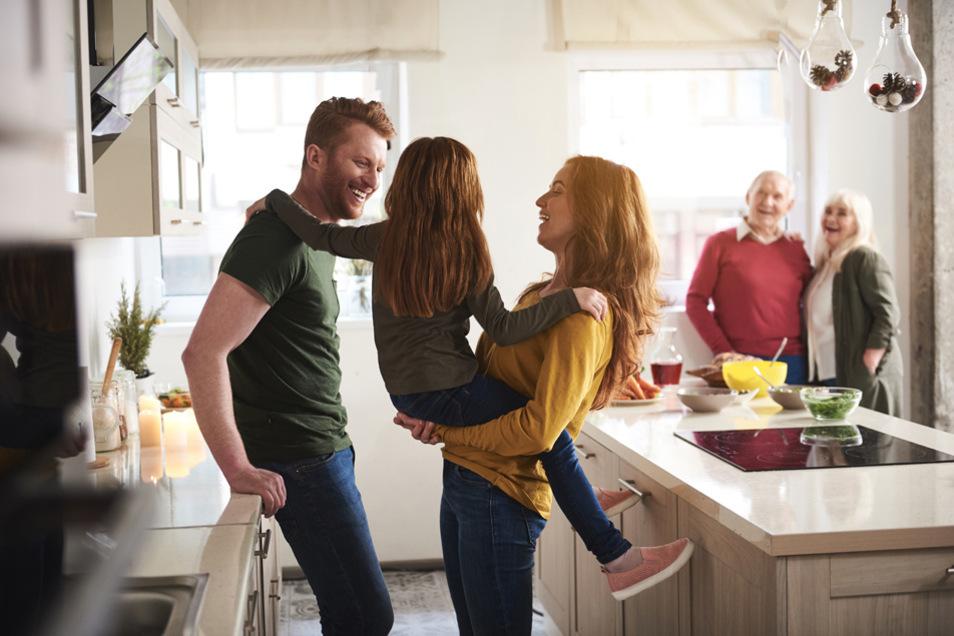 Die Küche wird zunehmend zum Wohnraum und Treffpunkt der Familie.