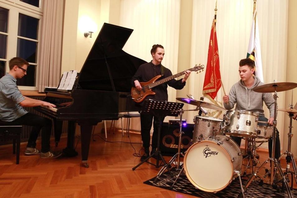 Für die musikalische Umrahmung sorgte die Jazz-Gruppe CodonArt aus Plauen.