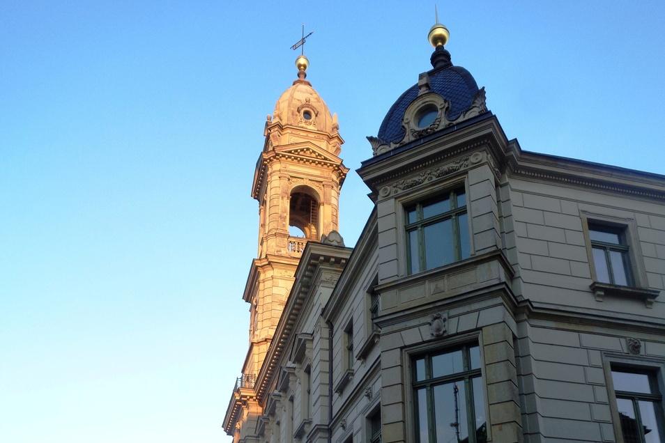 Das Rathaus - Großenhains Verwaltungssitz.