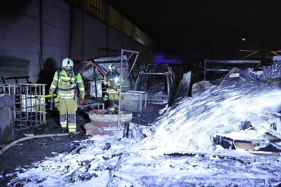 Die Feuerwehr musste nach Cossebaude ausrücken.