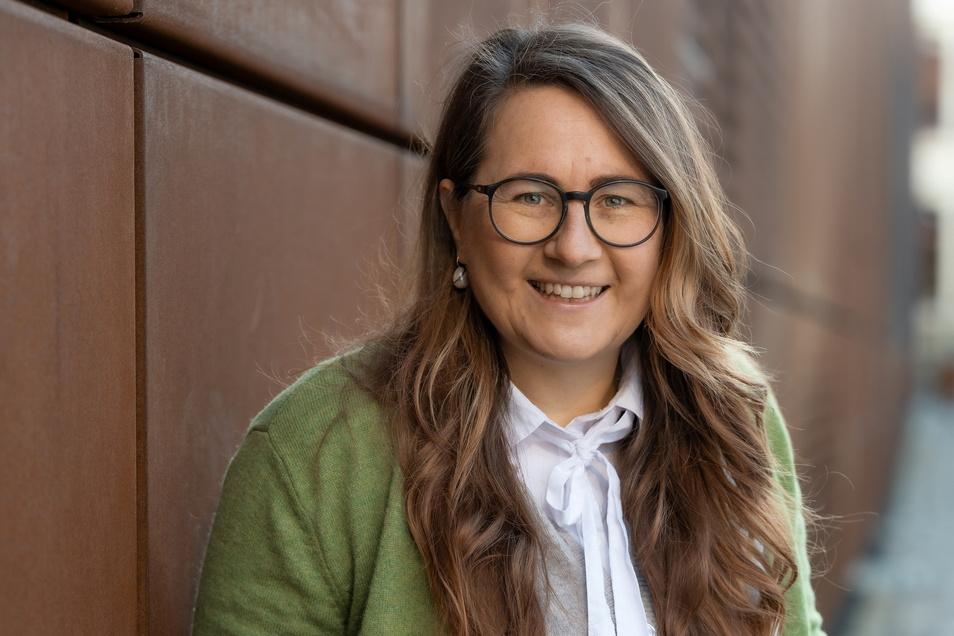 Stephanie Oppitz gründete 2014 die Windelmanufaktur in Dresden für nachhaltige Stoffwindeln. Heute hat sie 32 Beschäftigte.