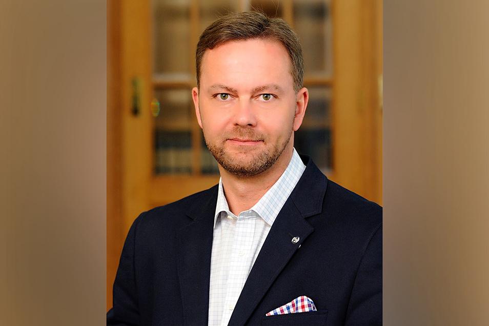 Lars Fiehler ist Geschäftsführer für Standortpolitik bei der Industrie- und Handelskammer Dresden.