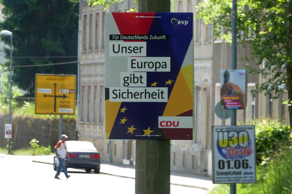 Zur Bürgermeisterwahl 2022, spätestes aber zur nächsten Kommunalwahl 2024 will auch Leisnig per Satzung selbst festlegen, wo Wahlwerbung hängen darf und in welchem Umfang.