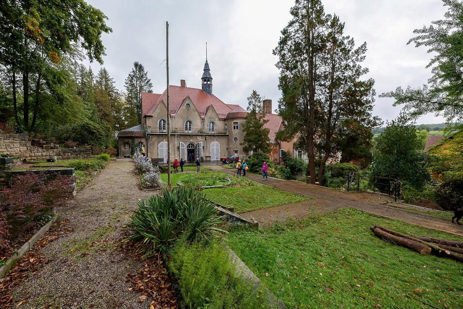 Im Schlosspark in Thürmsdorf wird am 15. und 16. Oktober gebuddelt.