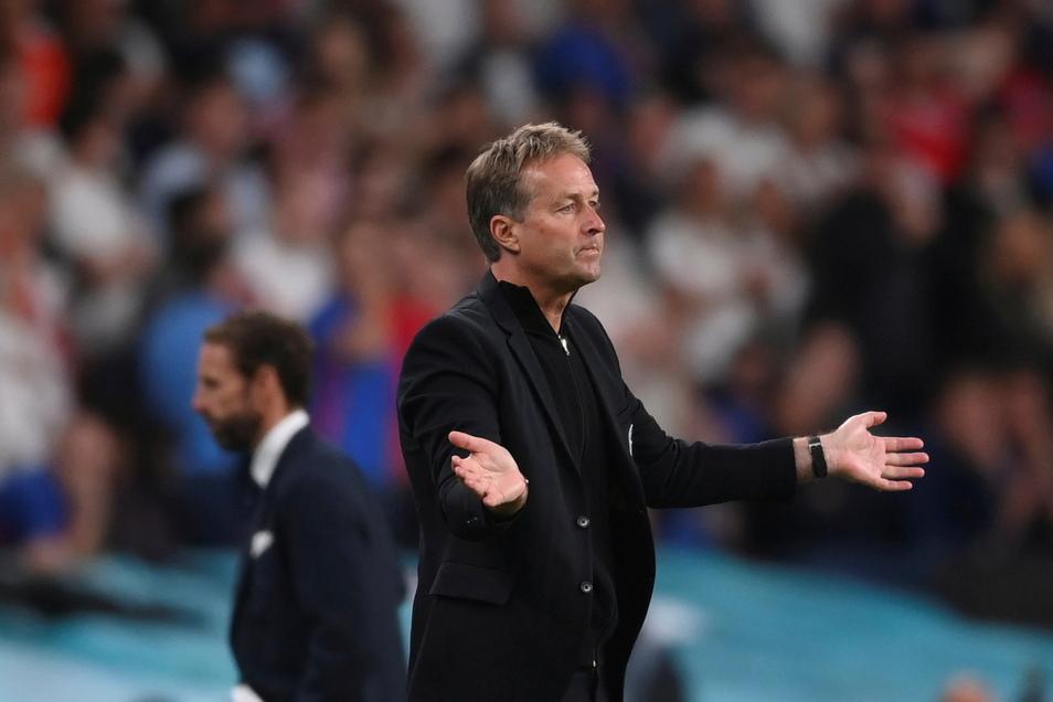 "Dänemarks Trainer Kasper Hjulmand: ""Wir sind sehr enttäuscht"""