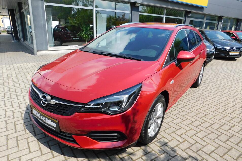 Der neue Opel Astra ist ein echter Hingucker.