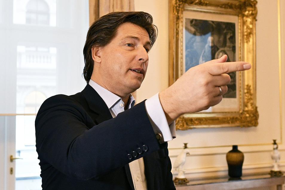 Sacher-Chef Matthias Winkler befürchtet eine lange Durststrecke für Luxushotels