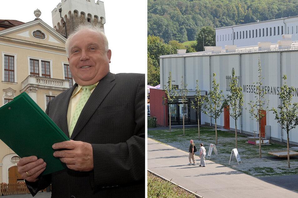 OB Dietmar Buchholz will den Kreistag in den Messepark holen.