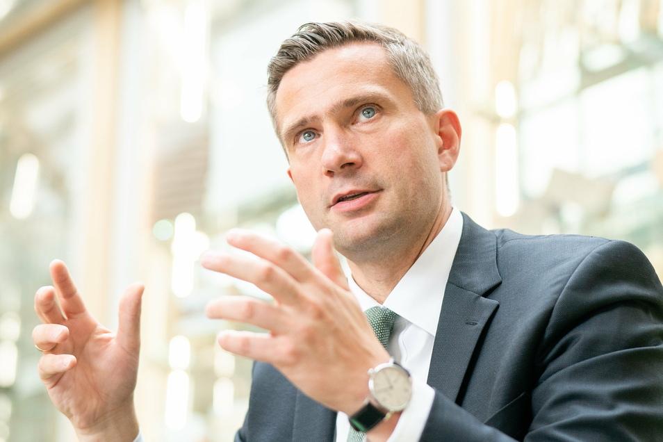 Rechtfertigt Sachsens Corona-Politik: Wirtschaftsminister Martin Dulig.
