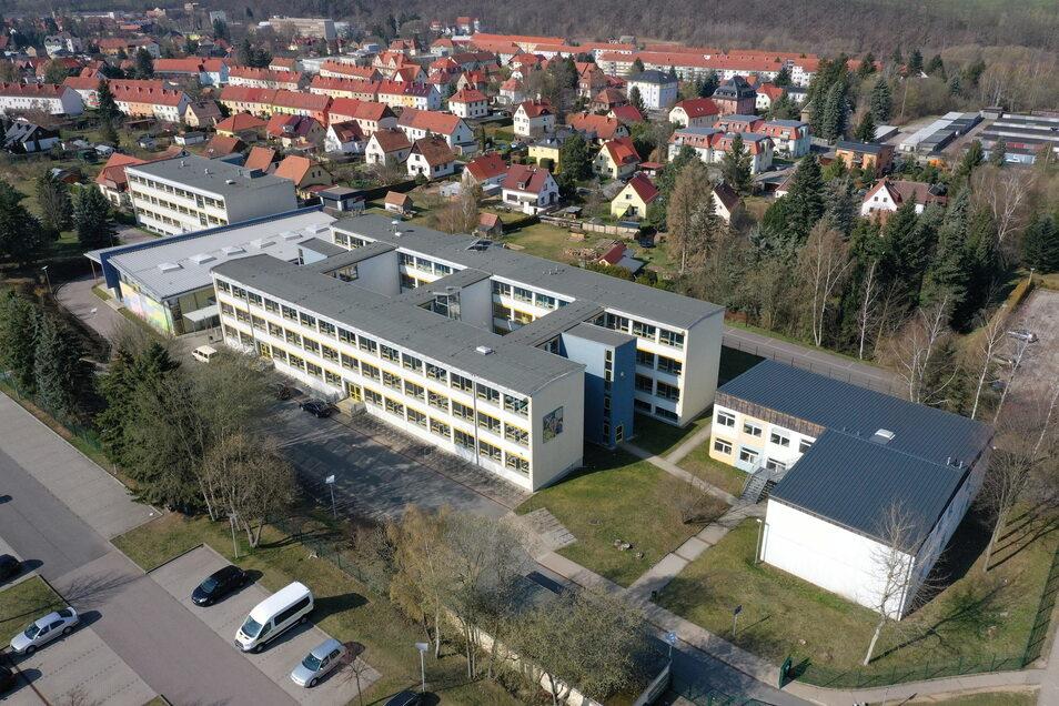 Das Glückauf-Gymnasium in Dippoldiswalde läuft jetzt schon vierzügig. Aber das reicht die nächsten Jahre nicht.