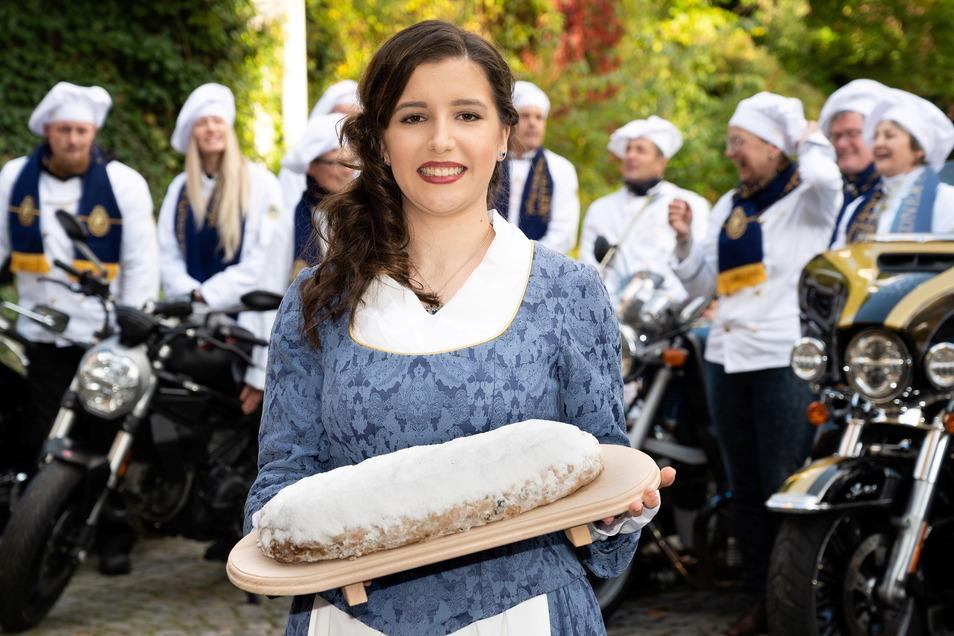 Lisa Zink ist das 27. Dresdner Stollenmädchen.