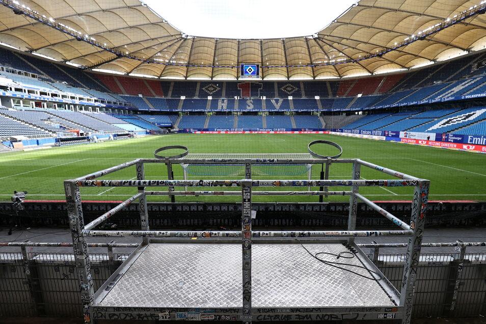 Hamburger SV | Volksparkstadion | Kapazität: 57.000 | Auslastung: 17.100 | Auslastung in Prozent: 30.