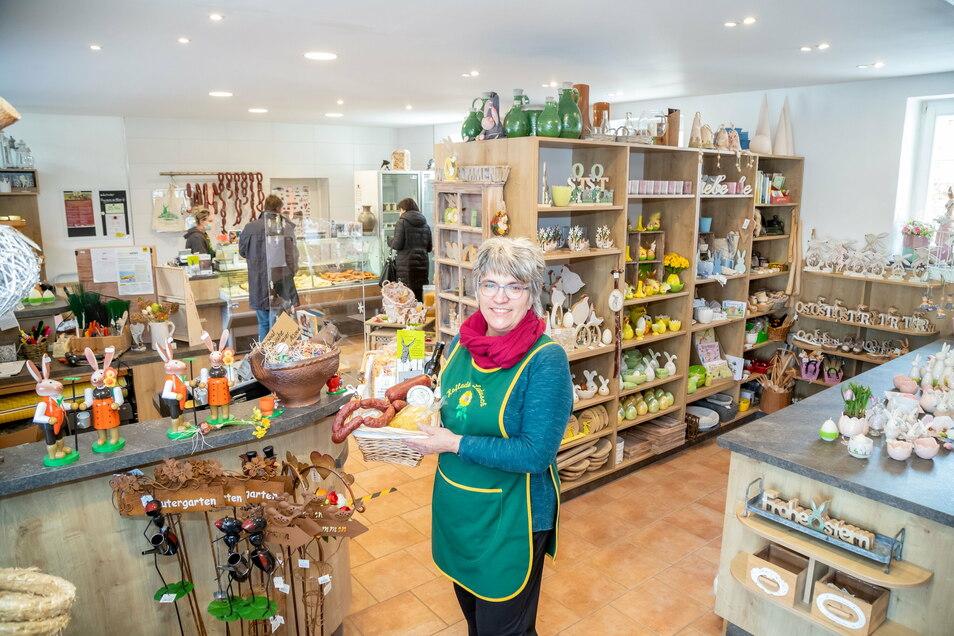 Der Hofladen von Ramona Ladusch in Kreba-Neudorf ist einer der am längsten bestehenden im Kreis - und erfreut sich wie andere auch zunehmender Beliebtheit.