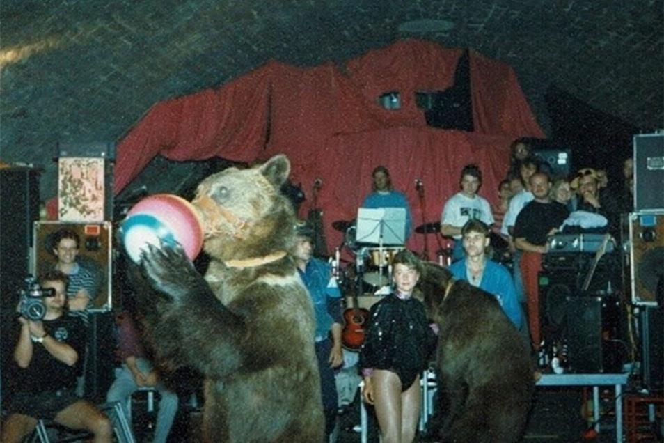 Als 1993 der 25. Jahrestag gefeiert wurde, gratulierten auch Zirkusbären