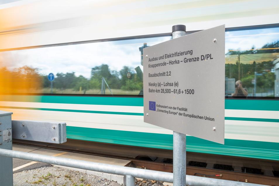 Sind demnächst neben den Dieseltriebwagen der ODEG auch Personenzüge mit Elektroloks auf der Niederschlesien-Magistrale unterwegs? Damit könnte es den schnellen Anschluss der Region nach Breslau und Leipzig geben.