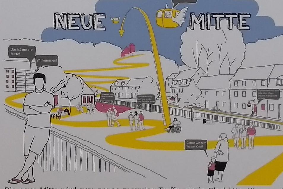 Der Moritz-Großmann-Platz könnte zur Neuen Mitte der Stadt werden.