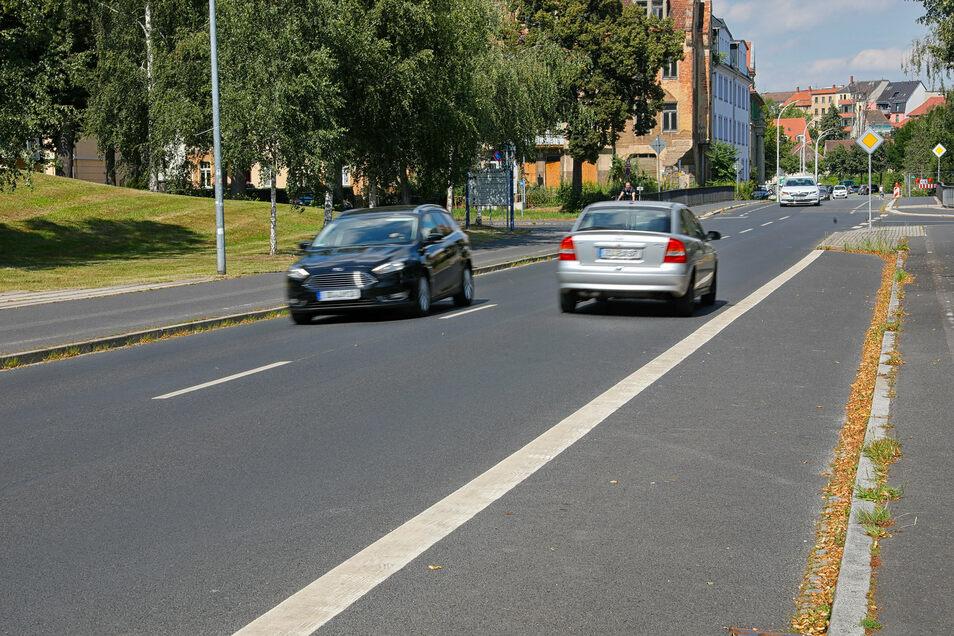 Die Kreuzung Schlieben-/Hochwaldstraße in Zittau wird für Fußgänger bald sicherer sein.