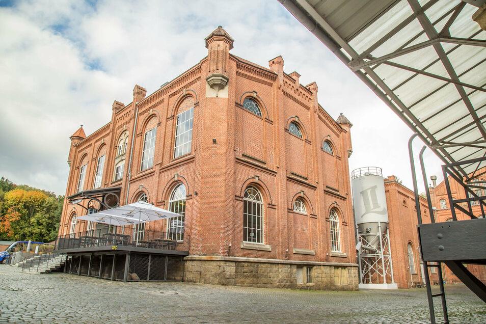 Das Besucherzentrum der Landskron-Brauerei war einst das Maschinenhaus. Vor mehr als 100 Jahren wurde es gebaut.