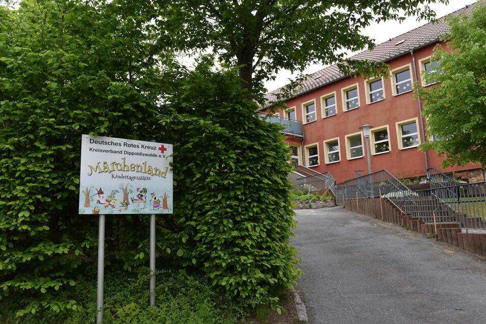 Nach einem Corona-Fall eines Kindes wurde im Kindergarten Märchenland in Dippoldiswalde sofort gehandelt. Prophylaxetestungen gibt es für Kitas noch nicht.