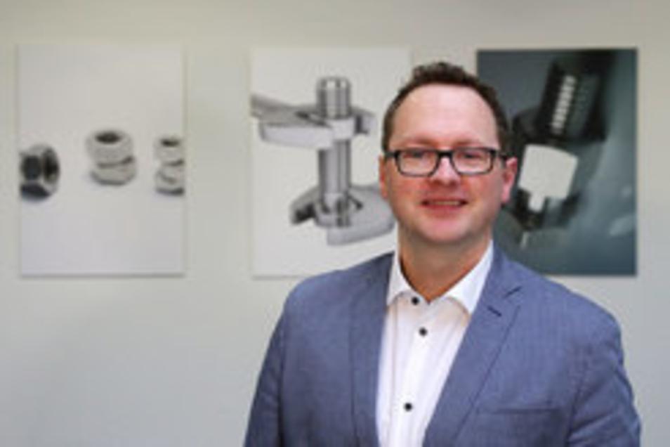 Peter Zimmermann, Chef des Werkzeug-Fachgroßhändlers August Holder GmbH in Dresden, ist absolut begeistgert von der Idee #ddvlokalhilft!