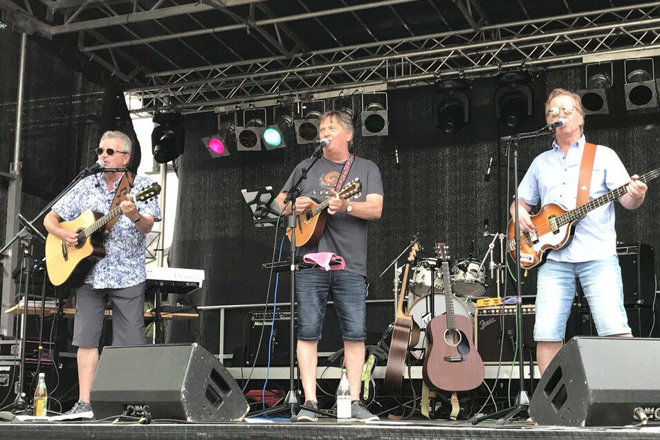 Bernd Delakowitz, Rudi Baumann und Karl-Heinz-Mayer von Mardi Gras.