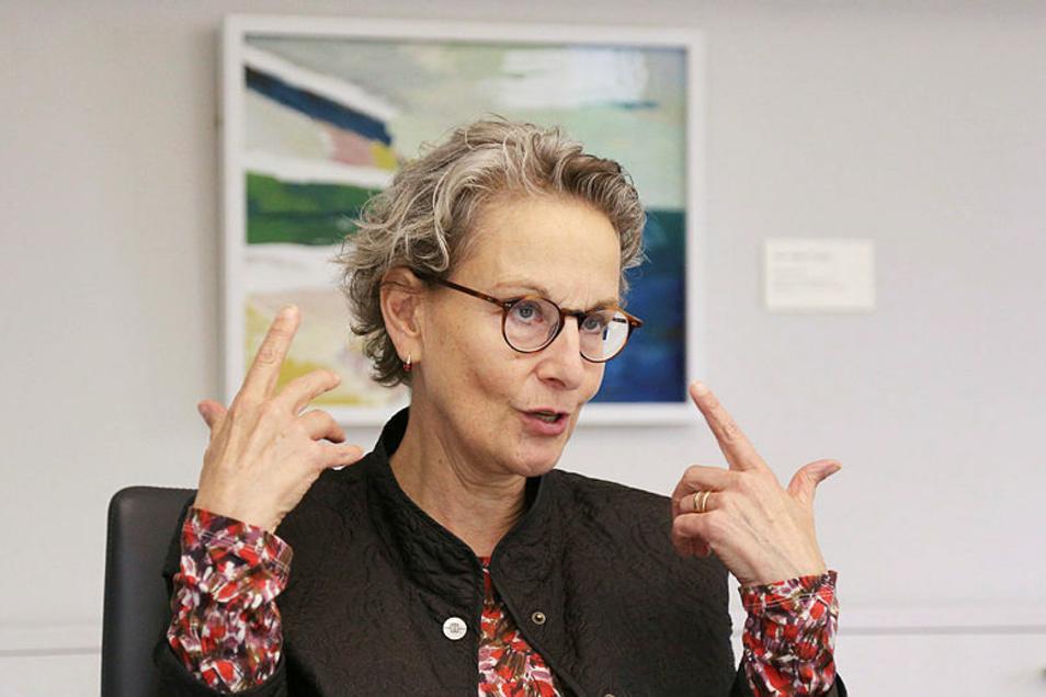 Professorin Ursula M. Staudinger ist die neue Rektorin der Technischen Universität Dresden. Sie will auch Akzente in der Stadtgesellschaft setzen.