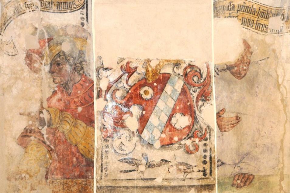Im Prälatenhaus finden sich mehr als 500 Jahre alte wertvolle Wand- und Deckenbilder.