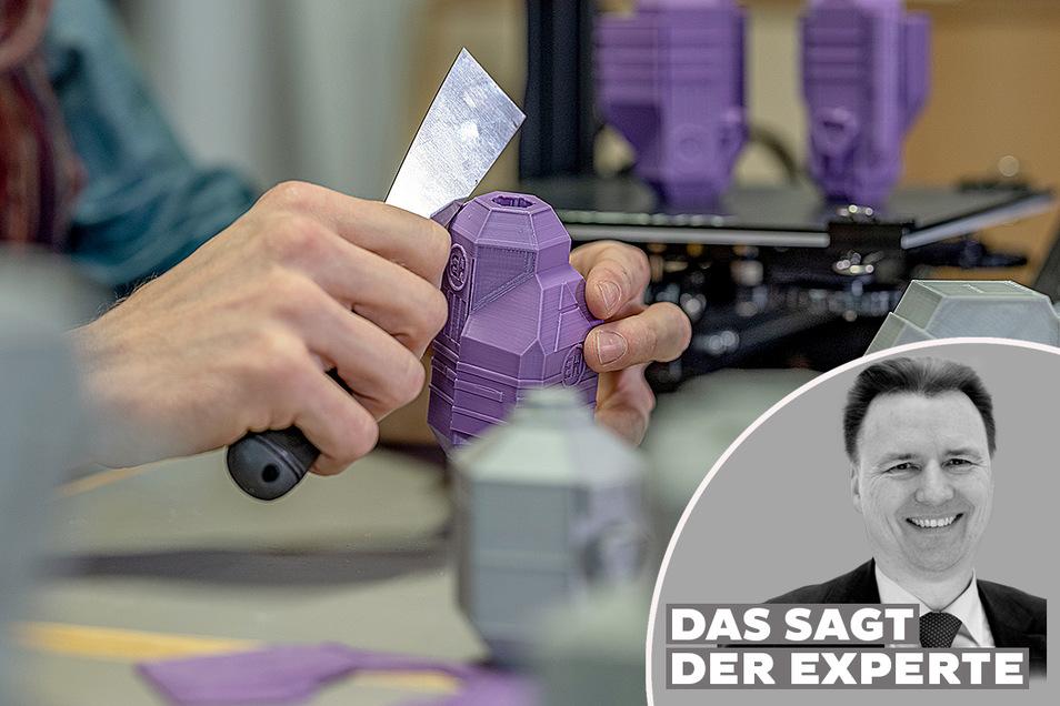 Professor Michael Schefczyk ist Dekan der Wirtschaftswissenschaften an der TU Dresden und leitet dort den Gründerlehrstuhl.