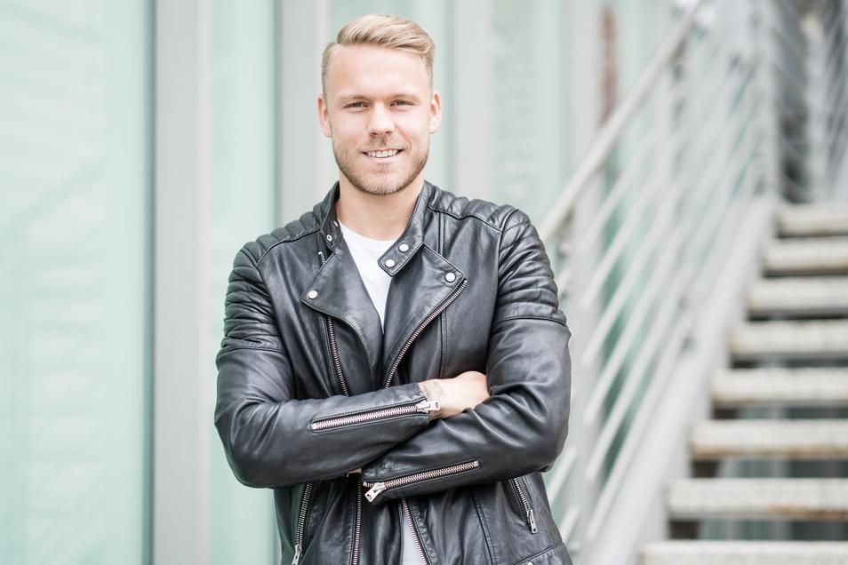 Marcel Franke ist Dresdner, spielt aber seit dieser Saison für Hannover 96. Das Wiedersehen mit dem Heimatverein am Sonntag musste jedoch wegen der Corona-Quarantäne von Dynamo ausfallen.
