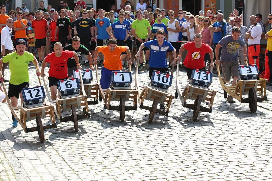Die Schiebocker Tage in Bischofswerda sind in diesem Jahr das erste große Stadtfest im Kreis Bautzen. Es findet aber anders statt als gewohnt. Auch das Schiebock-Rennen wird es in der gewohnten Form nicht geben.