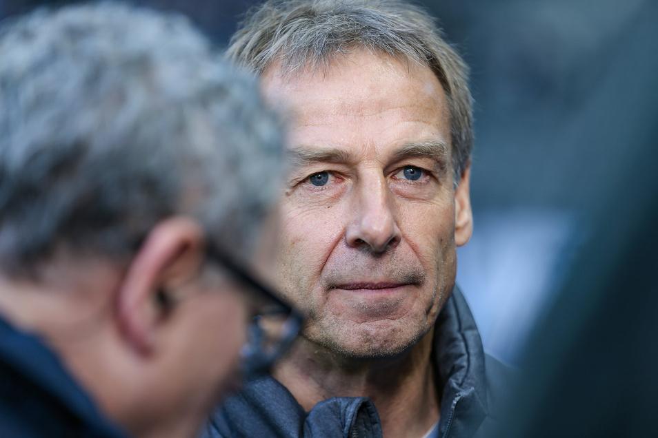 Erst im November 2019 hatte Jürgen Klinsmann den Trainerposten bei Hertha BSC Berlin übernommen.
