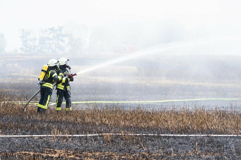 Damit bei Feuerwehreinsätzen genügen Löschwasser zur Verfügung steht, beteiligt sich die Stadt Kamenz jetzt an einer Investition der Ewag im Ortsteil Brauna.