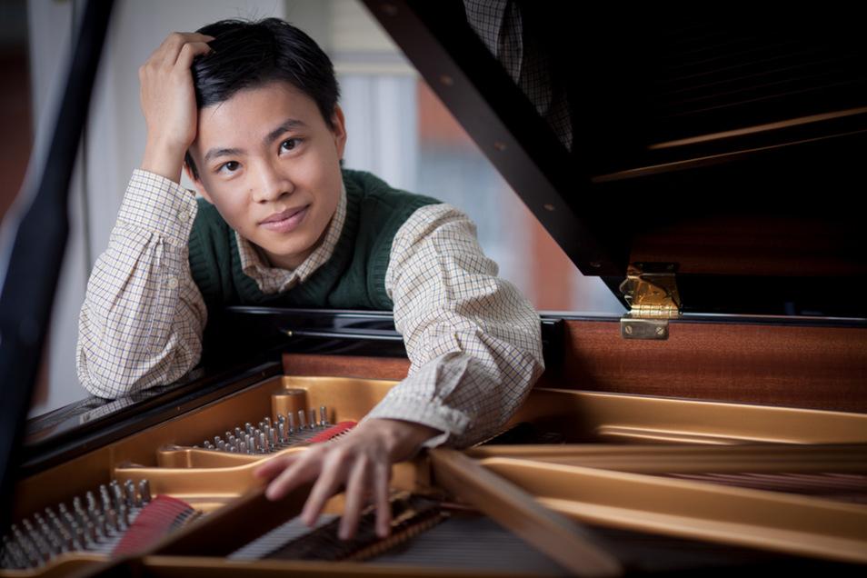 Der 27-jährige Kit Armstrong gilt als Ausnahme-Talent am Klavier.