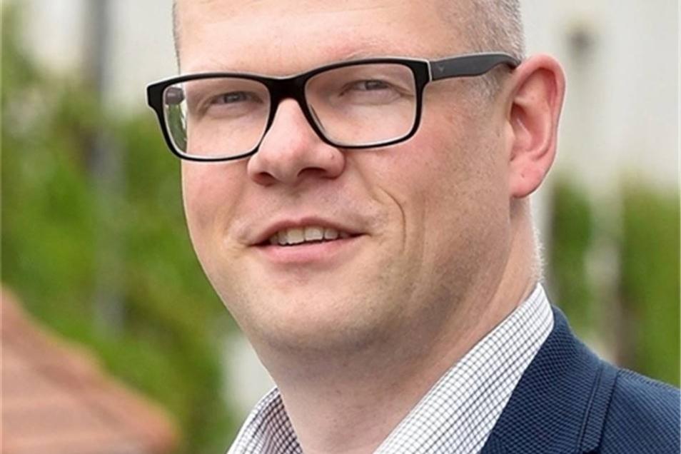 Markus Hallmann ist Bürgermeister der Gemeinde Mittelherwigsdorf.
